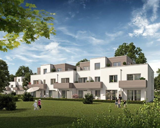 2-Zimmerwohnung, barrierefrei, große Terrasse