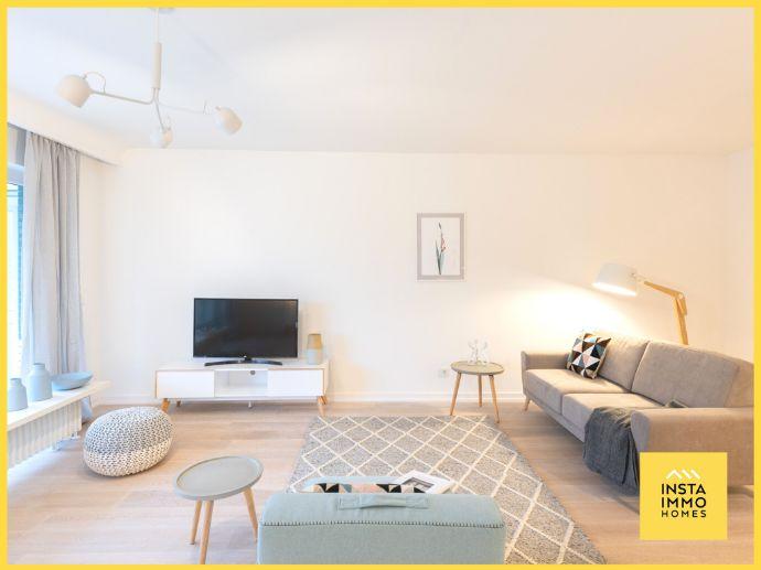 Voll möblierte 3-Zimmerwohnung mit Blick ins Grüne in Othmarschen (Nebenkosten und WLAN inklusive)