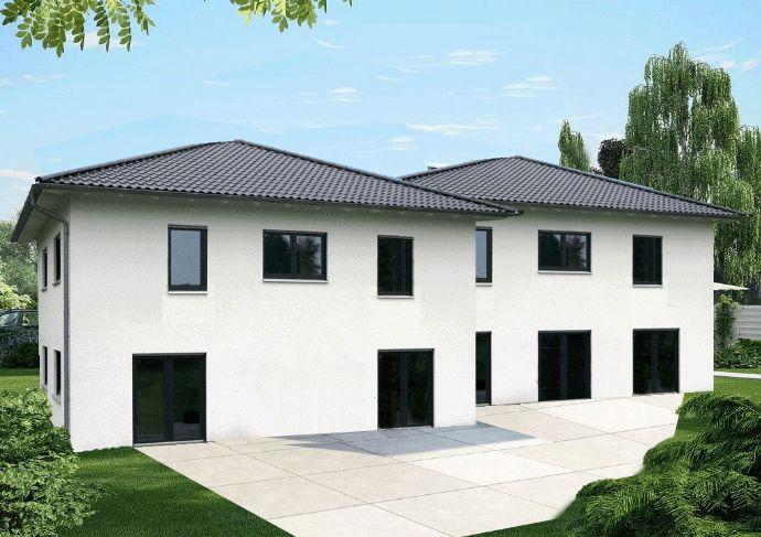 Hamburg Volksdorf - Stadtvilla als Doppelhaus in schöner Wohnlage