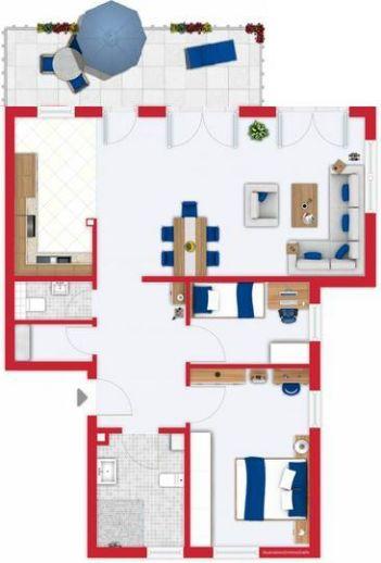 Weinstadt - Wohnung mit Balkon im 1. Obergeschoss