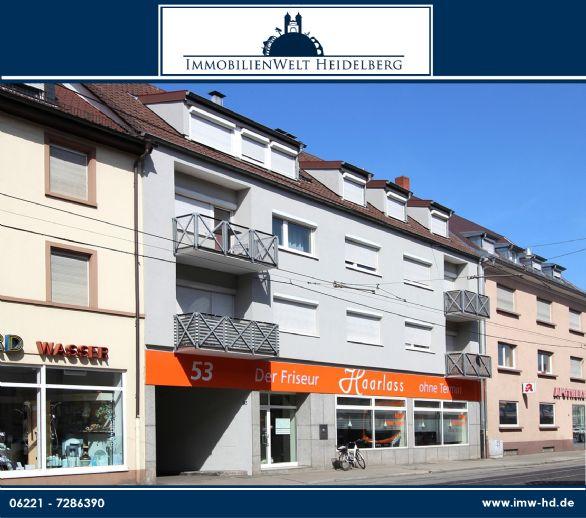 Gepflegtes Wohn- und Geschäftshaus in zentraler Lage von Heidelberg Handschuhsheim