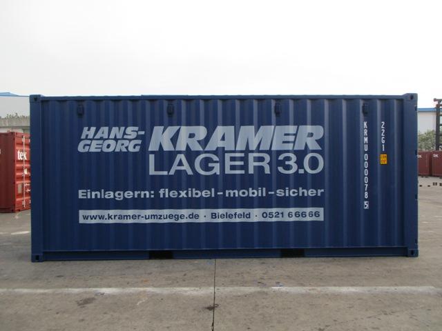 Neue und hochwertige Stahlcontainer mit Belüftung
