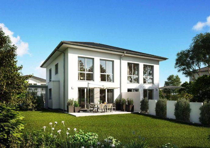 Doppelhaushälfte als Stadtvilla mit zwei Vollgeschossen - in sehr guter Lage in Bönningstedt