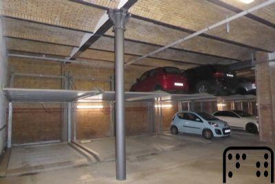 Leipzig Garage, Leipzig Stellplatz