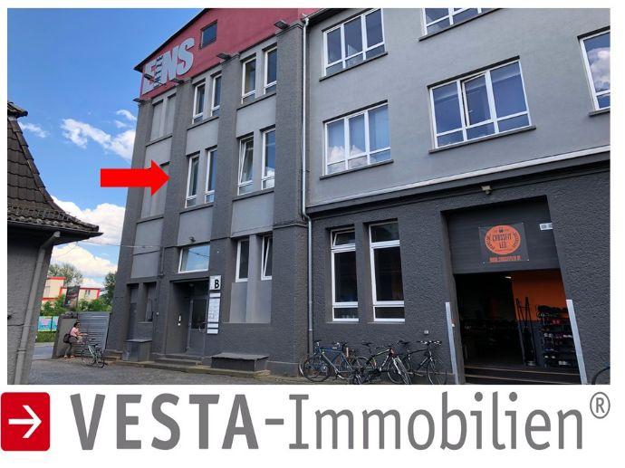 HANAUER LANDSTRAßE: WOHNBÜRO Loft â alte Fabrik Etage mit hohen Decken !