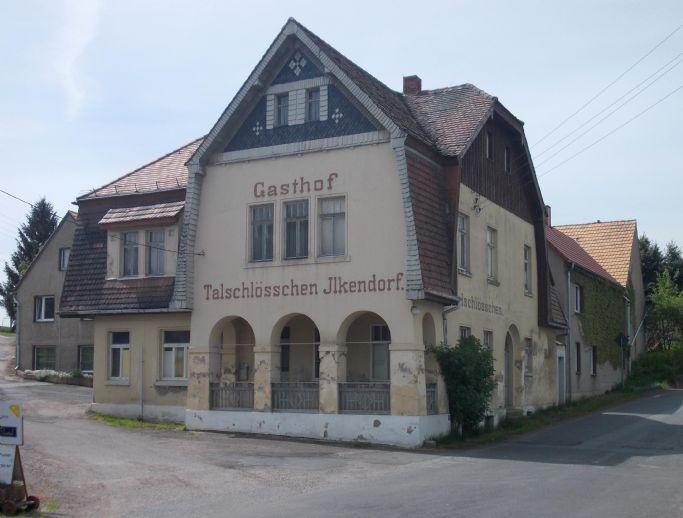 Denkmalgeschütztes Gebäude ehemalige Gaststätte Talschlösschen