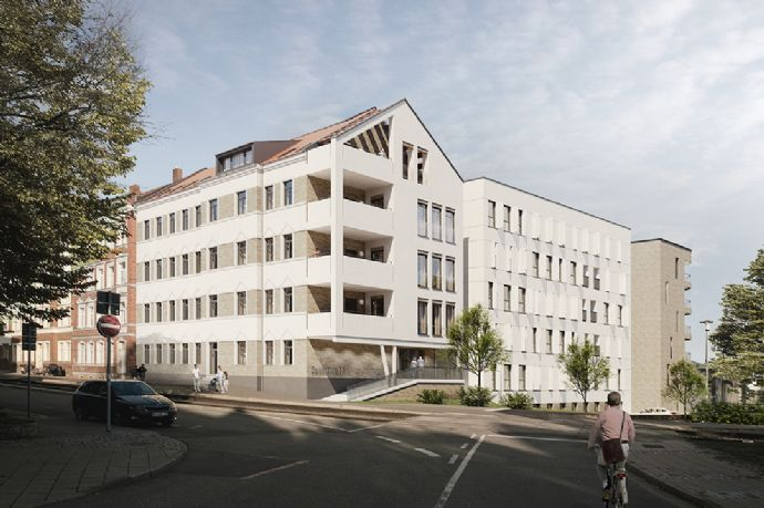 Meyfartstr. komplett verkauft! Aktuelles Projekt -downtown 55- in der Brühlervorstadt mit Sanierungs-AfA - Erstbezug im Sanierungsgebiet!
