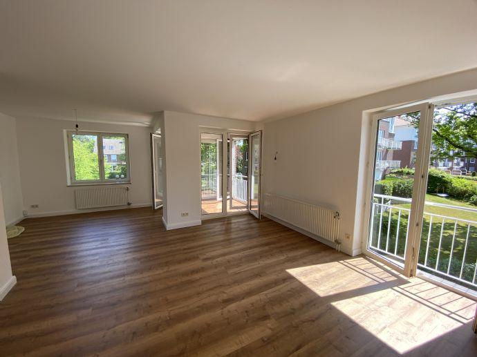 Alles neu! Erstbezug nach Sanierung/Renovierung, großzügige komfortable 3-Zimmer-Wohnung in Halstenbek in sehr ruhiger Lage, nahe Krupunder See