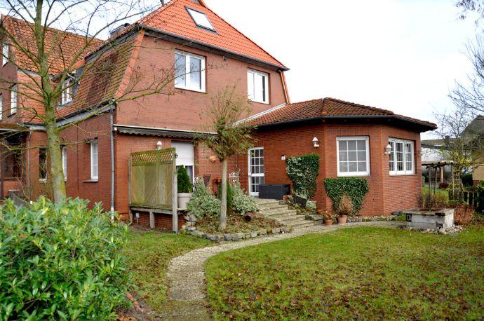 Modernisierte 3,5-Zimmer-Wohnung mit Terrasse und Garten in Müden/Aller