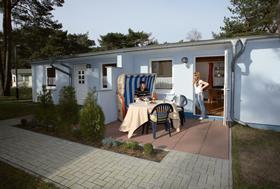 Gemütliche Doppelhaus-Hälfte Nr. 25 im Ferienpark Kiefernweg Ostseebad Zinnowitz