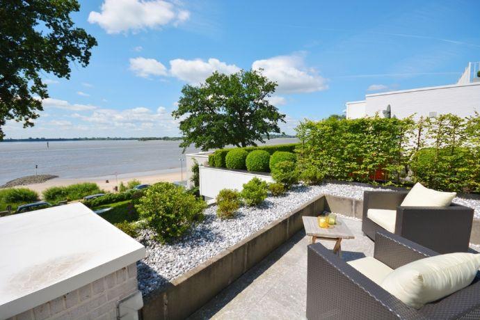 Terrassen-Bungalow mit Panoramablick