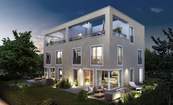 Exklusives Dachterrassenhaus mitten im Grünen und in bester Nachbarschaft