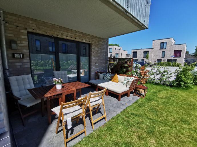 Attraktive 3-Zimmer-Terrassen-Wohnung in Neubau