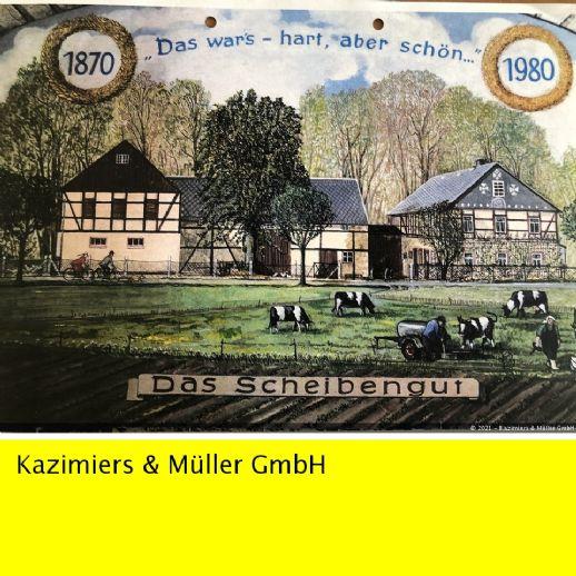 Bauernhof - Dreiseitenhof künftiges Reihenwohnhaus in