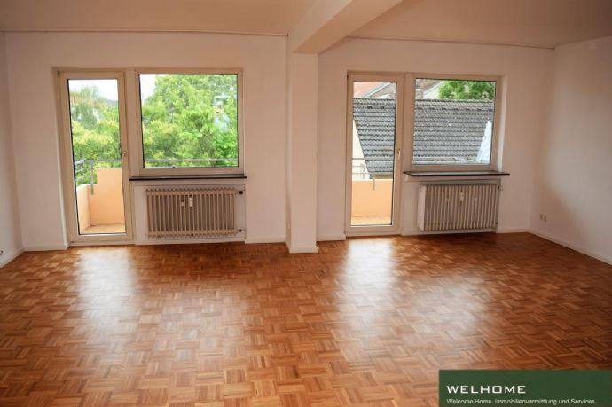 5 Zimmer, 2 Balkone, 2 Bäder, 2 Parkpläzte in ruhiger Lage zentral in Bockenheim
