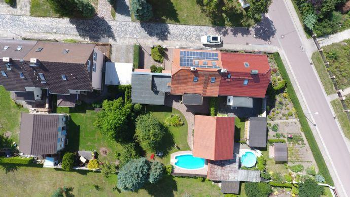 Einfamilienhaus in Lieskau als Doppelhaus