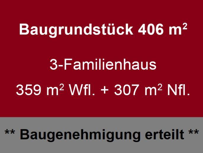 # EF-Hochheim // für Bauherrengemeinschaft ideal // Planung+Baugenehmigung für 3-FH // bauträgerfrei