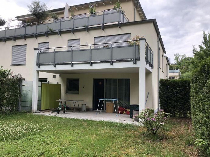 Neubau 2-Zimmer-Wohnung mit eigener Terasse und Garten in Frankenforst