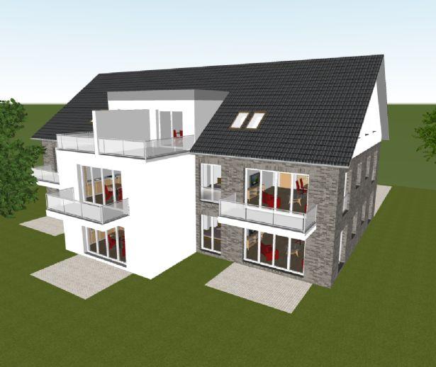 Moderne, attraktive Energiesparwohnung (KfW40) in Achim/Baden