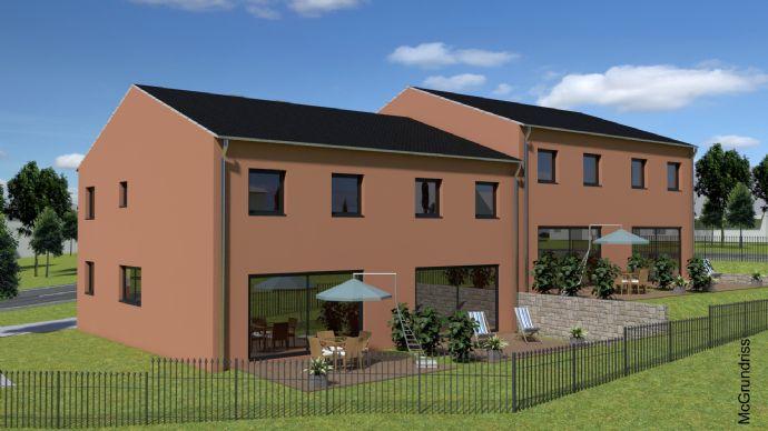 Neubau! Doppelhaushälfte mit Terrasse und Garten in Cham-Chammünster