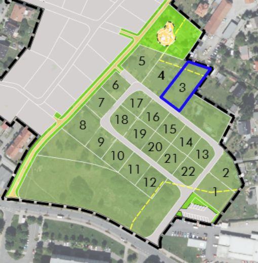 Baufeld 3 im Baugebiet Pillnitzer Straße / Richard-Wagner-Straße/Schillerstraße in Radeberg