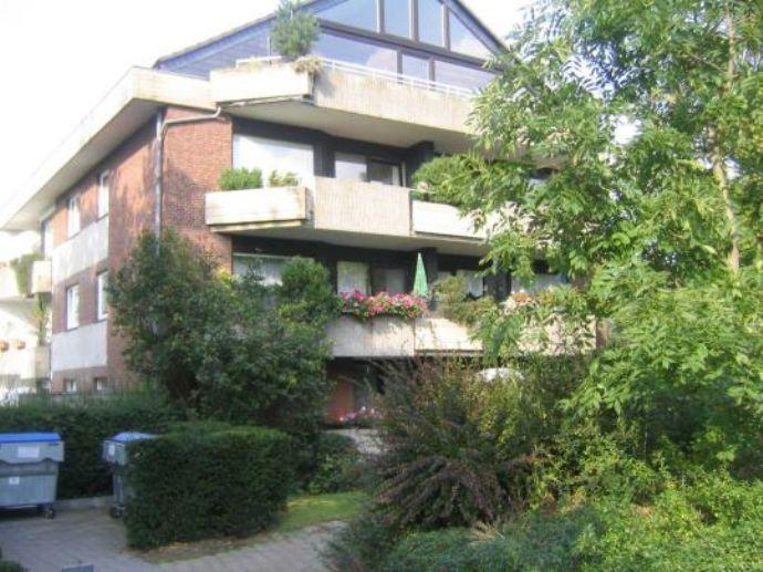 Sehr schöne Zwei-Zimmer-Erdgeschoss-Wohnung in ruhiger Lage von Krefeld