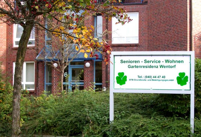 Gartenresidenz Hamburg-Wentorf *Sicher versorgt und selbstbestimmt leben und wohnen*
