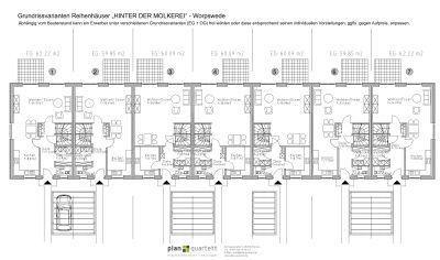 Grundrissvarianten Erdgeschoss