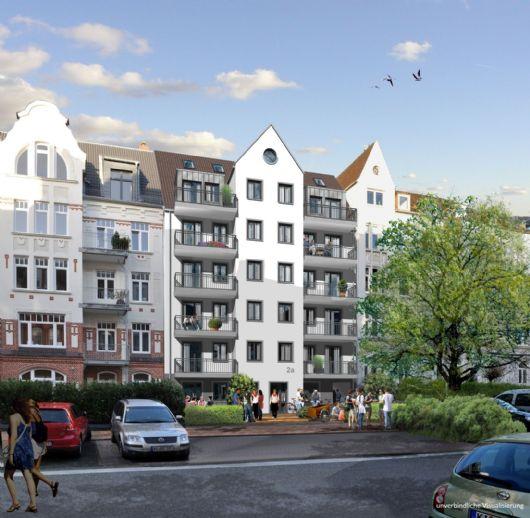 Kleines Appartement über den Dächern Kiels