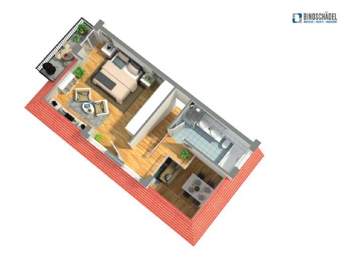 Hochwertiges Wohnen in Weingarten - 3,5-Zimmer-Maisonettewohnung