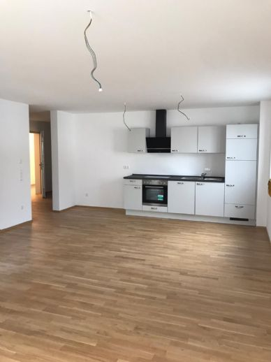 3-Zimmerwohnung mit Einbauküche. Neubau-Erstbezug!