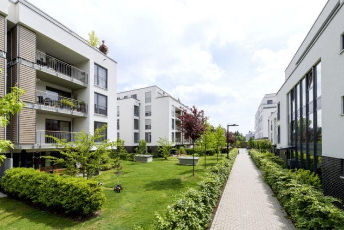 Stilvolle 3-Zimmer-Erdgeschosswohnung mit Garten und Einbauküche in Düsseldorf