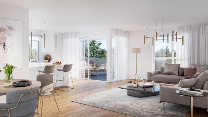 Wohnträume wahr werden lassen: Neubau 4-Zimmer Wohnung mit großer Sonnenterrasse