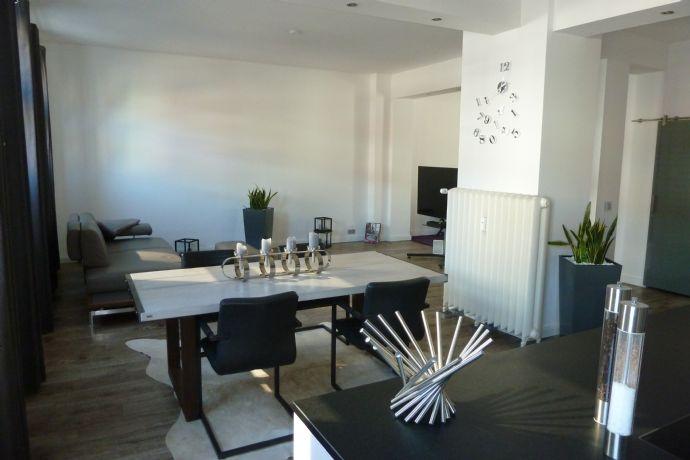 loft interieur mit schlichtem design bilder, extravagantes wohnen mit loft-charakter in zentraler citylage loft, Design ideen