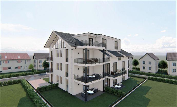 Exklusive Neubau 3-Zimmer Eigentumswohnung mit Gartenanteil