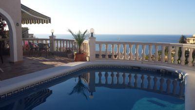 Costa Blanca, Moraira, direkt am Meer mit Pool