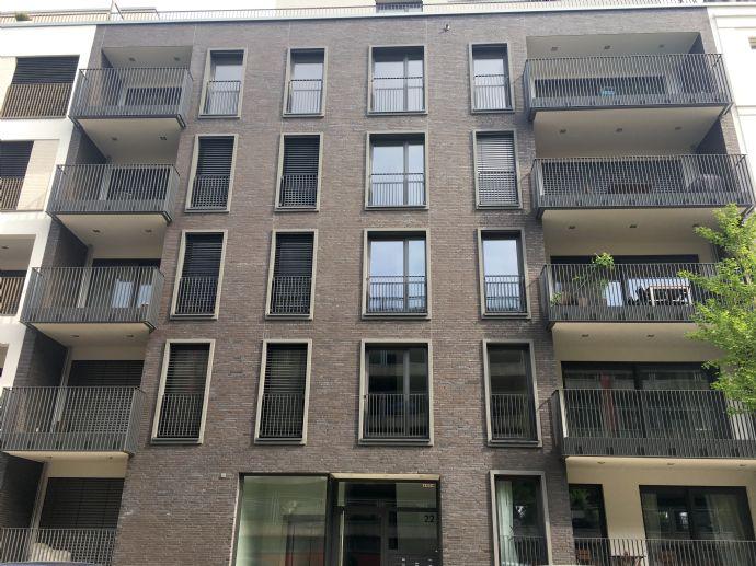 *NeMo* schöne möblierte Neubau Wohnung mit Einbauküche in direkter Rheinlage