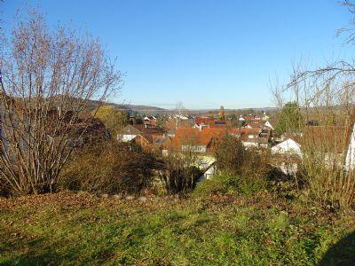 Erschlossener Bauplatz mit einer Panoramaaussicht in Schorndorf Miedelsbach