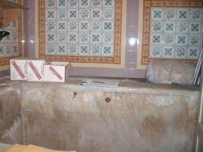 Badehaus - Tauchbad in italienischem Marmor