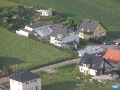 Luftbild Grundstücksgrenzen