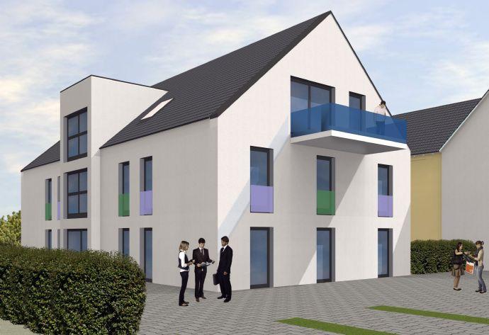*RESERVIERT* Exklusive Neubau 2-Zimmer Dachgeschosswohnung in Toplage von Forchheim!