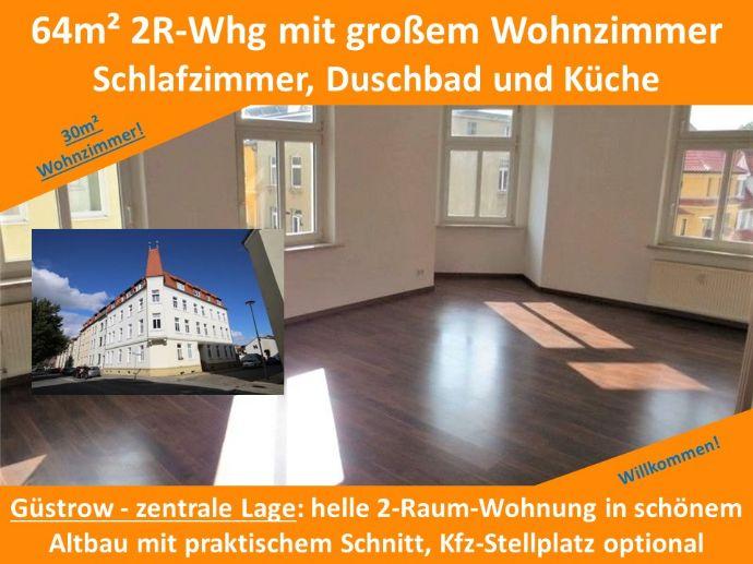Güstrow bei Rostock 3R Wohnung