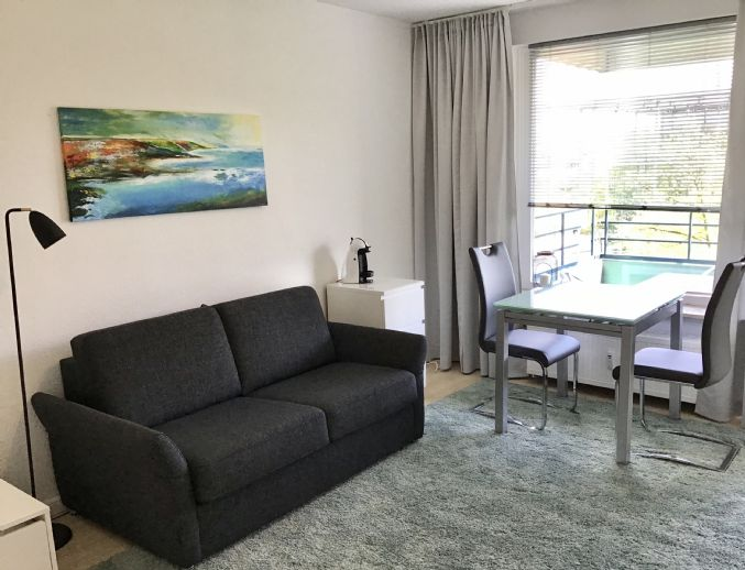 TOP LAGE - Rothenbaumchaussee 1 Zimmer Wohnung modern möbliert