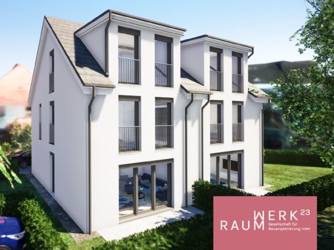 Neue Familienhäuser im grünen Reichelsdorf - KfW55