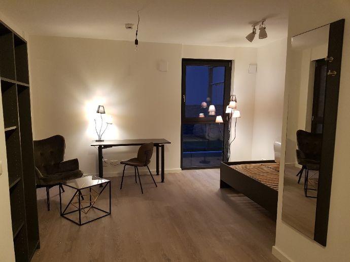 Neubau!!! Möbliertes 1-Zimmer-Appartement in Berlin Wedding