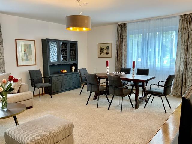 WARM Helle möblierte Wohnung in Lindenthalmit Balkon zum Einziehen und Wohlfühlen!
