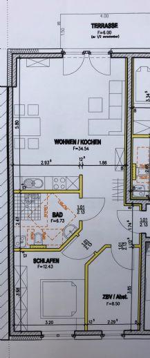 3-Zi.-Wohnung in der 3. Etage oder EG , 66 m²