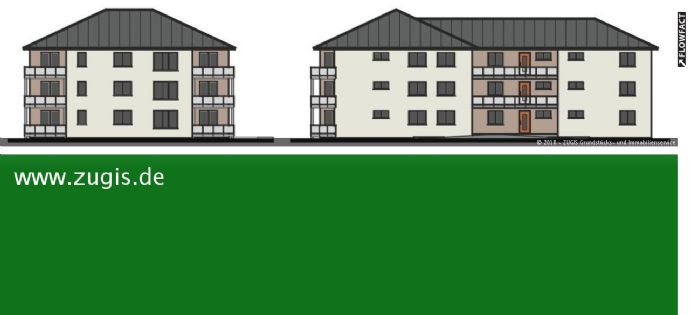 2-Raumwohnung in moderner Wohnanlage zu verkaufen