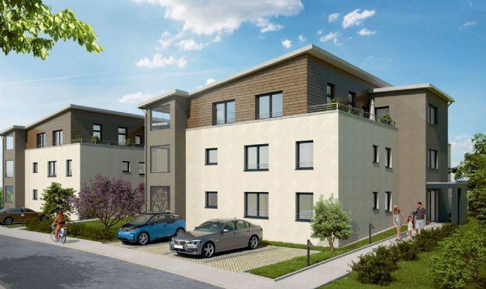 Erstbezug - Helle 3,5 Zimmer Penthouse-Wohnung mit Loggia und Dachterrasse
