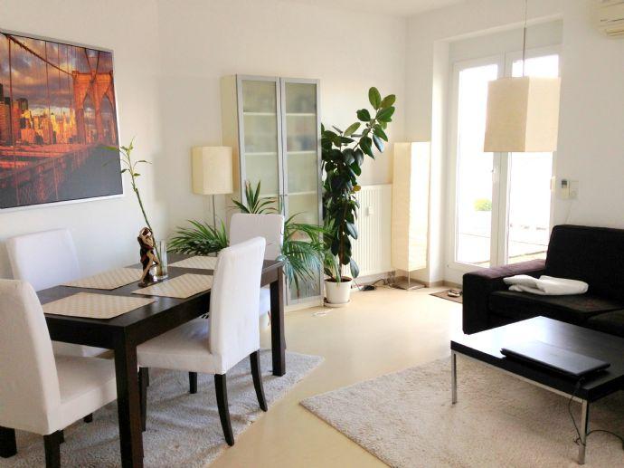 klimatisierte Penthouse-Wohnung in Uni-Nähe